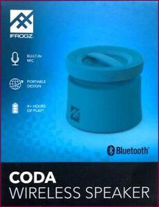 iFrogz Coda Lautsprecher Bluetooth Ultra Kompakt mit Mikrofon - Blau