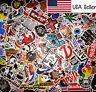 150 Random Skateboard Stickers Vinyl Laptop Luggage Decals Dope Sticker Lot Mix
