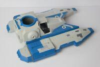 Star Wars Clone Wars Republic Fighter Blue Hasbro 2009 C022E.missing parts