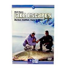 Lake Escapes Barbel Catfish Carp Chub Fishing Dvd Matt Hayes Watched Once VGC