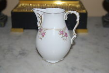 Wonderful Lindner Germany Jasmin Small Hand Painted Flowers Gold Cabinet Creamer