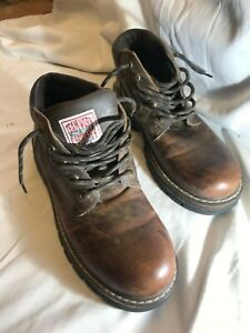 Mens Team Work Company leather boots size 45