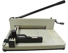 """Paper Cutter A4 Metal Base Guillotine Page Trimmer Blade Scrap Booking 12"""" New"""