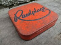 Collectable c1960's Vintage Rawlplug Tin - Complete with Some Original Contents