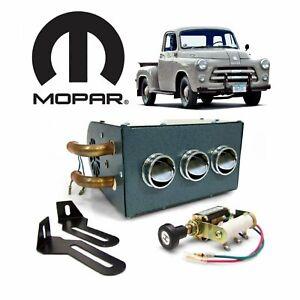 1954-1960 Dodge C Truck Under Dash Heater Box Cab Defroster flathead hemi mopar