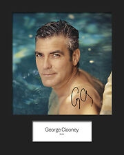 George Clooney Signed Mounted Photo Display #1