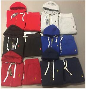 Polo Ralph Lauren Sweat Suit Full Set Hoodie Sweat Pants Brand New