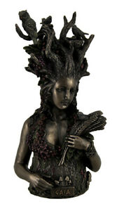 Statue of Gaia Greek Mother Earth Goddess & Ancestral Mother of All Life