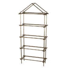 "Bamboo-Inspired Etegere Shelf 32x13x73"" - Df42290"