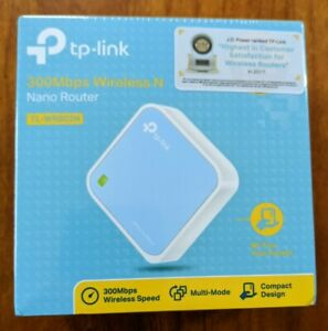 TP-Link 300Mbps Wireless N Nano Router TL-WR802N Brand New - Unopened Box