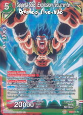 Dragon Ball Super Card Game ! Gogeta SSB, Explosion Récurrente EX04-03 VF