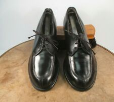 made in Usa Craddock Terry Panco size 5 B black leather Army formal dress shoes