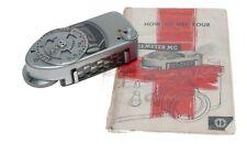 Leica Meter MR M2 M3 M4 chrome light exposure instructions