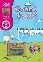 Count to 20 Age 4-5 (Letts Fun Farmyard Learning), Huggins-Cooper, Lynn, New,