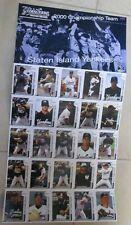 2015 STATEN ISLAND YANKEES SGA FOLDOUT 2000 CHAMPIONSHIP 25 PLAYERS