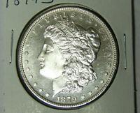 Choice BU+ 1879-S Morgan Silver Dollar Choice Uncirculated Plus (72820)