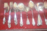 Flatware Oneida, Rogers 1881 Plantation 1948 lot of 52 pieces, silver plate