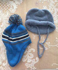 2 boys winter hats 12-24 months.