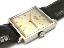 Vintage Longines Square Watch. Manual Wind, Cal 370. Big Size ( 36mm x 27mm)