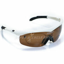 DUNLOP Cycling Sport Sunglass Degree Classes Available , White x Black