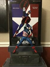 CAPTAIN AMERICA Marvel Premier Collection Statue by Diamond Select ....Brand New