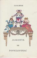 Molière / monsieur de pourceaugnac, comédie ballet en 3 actes (ill de J.Hémard)