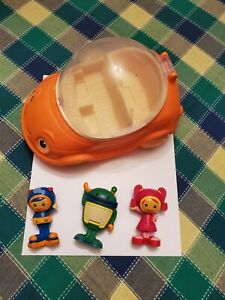 RARE Team Umizoomi, Umi Car Milli Geo Bot Figures Collectible