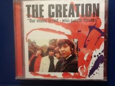 THE. CREATION.       OUR. MUSIC  IS RED WITH. PURPLE. FLASHES.    COMPACT DISC