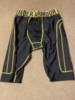 Mens Under Armour Baseball Slider Compression Spandex Sliding Shorts Small S