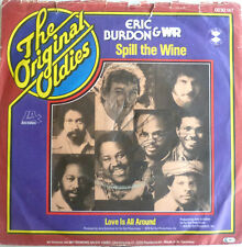 "7"" Eric Burdon & era spill the wine Love is All Around"