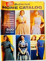 Vintage BUTTERICK HOME CATALOG Magazine ~ 1960's ~ U PICK! Sewing Collectible