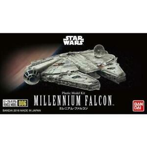 Bandai Hobby Star Wars Millennium Falcon 006 1/350 Scale Model Kit A New Hope