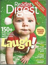 Reader's Digest December 2013 Humor Issue/I Survived a Sinkhole/Year in Quotes