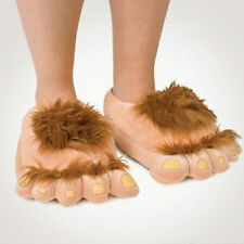 Plush Hobbit Hairy Feet Adventure Costume Play Make Adventure Slippers