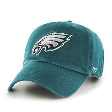 Philadelphia Eagles 47 BRAND NFL Green Clean up Adjustable Hat 8e60a558f6c6