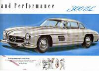 Mercedes Benz Type 300 SL Sales Brochure 1955 US / UK
