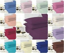 NEW Pack Baby Toddler Cot Bed Fitted Sheet 70cm x 140cm / Pillowcase PolyCotton