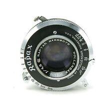Vintage Wollensak 4,5/101mm Raptar Lens For 6x9cm Cameras. Clean & Accurate.