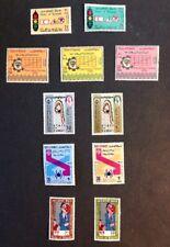 1970 VF Mint Hinged 5 Sets