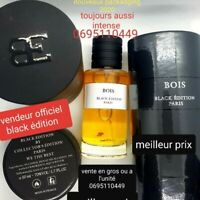Parfum privé bois N°1 black édition made in france  luxe intense gain d'argent