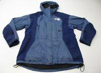 THE NORTH FACE Women's Size S Gore Shell Blue Hooded Trek Rain Jacket