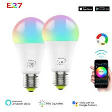 Home Smart WiFi Light Bulb 7W RGB Magic Light Bulb Lamp Wake-Up Lights Hot
