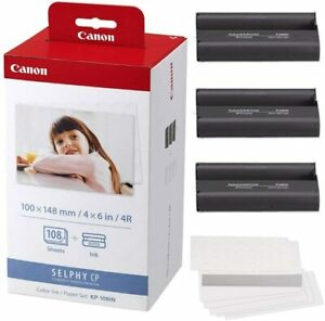 Canon KP-108IN Color Ink and Paper Set NEW