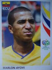 Panini 78 Marlon Ayovi Ecuador FIFA WM 2006 Germany