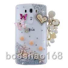 Glitter Luxury Crystal Bling Rhinestone Diamonds Soft Silicone Gel Case Cover #A