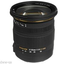 Sigma 17-50mm F2.8 EX DC OS HSM Zoom Lens for Canon Mount #SI133X DWW