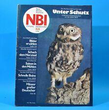 DDR NBI 35 1981 Jena Herztod Quedlinburg Märkisches Museum NATO Leichtathletik C