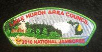 MERGED LAKE HURON AREA COUNCIL MI OA MISCHIGONONG 89 2010 JAMBOREE BSA 100TH JSP