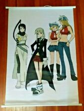 "SOUL EATER ""TSUBAKI, MAKA, PATTI, & LIZ"" 60cm X 90cm ANIME CLOTH WALL SCROLL"