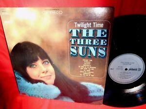 THE THREE SUNS Twilight time LP 1966 USA EX+